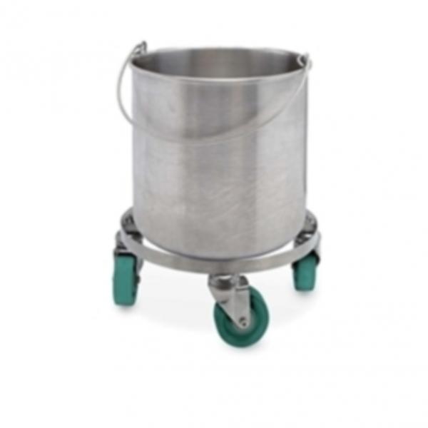 100% Seamless Round Bucket 10 gallons (37 liters)